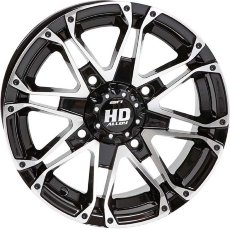 Диск sti hd3  gloss black R12 5+2